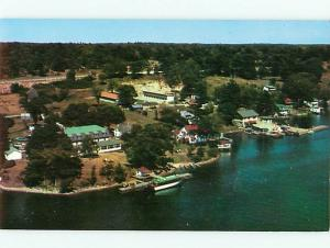 Ivy Lea Ontario Canada Aerial Ivy Lea Bridge Thousands Islands  Postcard # 5813