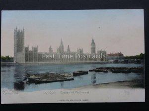 London HOUSES OF PARLIAMENT 1902 UB Wilhelm Hoffmann Southwood Burlington Arcade