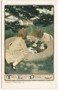 Jesse Willcox Smith The Lily Pool Postcard