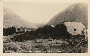 RP: BAJA , Mexico , 1910-20s ; Runias dela Mission UB. Sto. Domingo