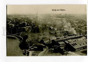 270393 ESTONIA Gruss aus NARVA Vintage photo postcard