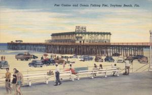 Pier Casino And Ocean Fishing Pier, DAYTONA BEACH, Florida, 1930-1940s