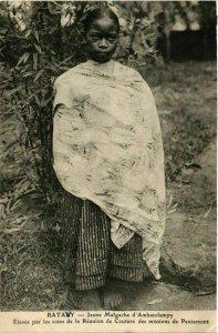 CPA AK RATAVY Jeune Malgache d'Ambatolampy MADAGASCAR (709507)