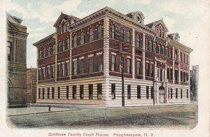 POUGHKEEPSIE, New York, 1900-1910s; Dutchess County Court House