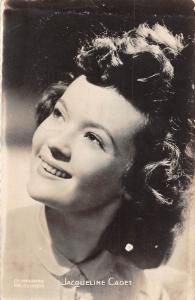 Actress Jacqueline Cadet Ch. Vandamme les mirages