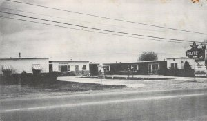 Star Motel, Rogers, Arkansas, Beaver Lake Under Construction, Old Postcard