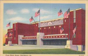 HARRISBURG, Pennsylvania, PU-1942; Farm Show Arena