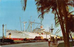 Caribbean, S.S. Alcoa Cavalier, Marine, Ship, Schiff 1956