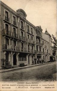 CPA LOURDES Hotel St-Francois d'Assise (412547)