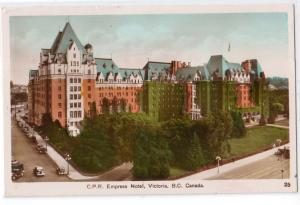 C.P.R. Empress Hotel, Victoria BC