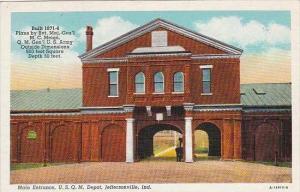 Indiana Jeffersonville U S Q M Depot Main Entrance