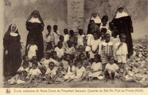 Ecole enfantine de Notre Dame du Perpetuel Secours, Quartier du Bel-Air, Port...