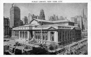 US N.Y. New York City, Public Library, 42nd Street and Fifth Avenue