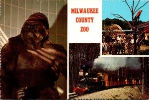 Wisconsin Milwaukee County Zoo Gorilla Miniature Train & More