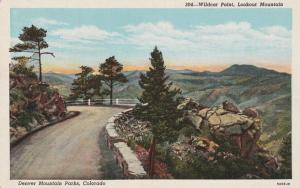 Wildcat Point on Lookout Mountain - Denver Mountain Parks CO, Colorado - WB