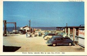 Ohio Lakeside Browns Marina On Lake Erie Dexter Press