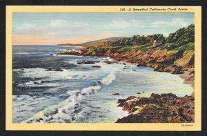 California Coast California Unused c1938