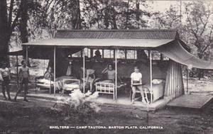 Shelters Camp Tautona Barton Flats California Artvue