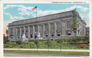 Illinois Springfield Supreme Court Building 1936 Curteich