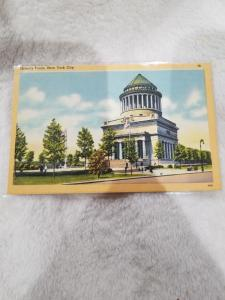 Antique Postcard, Grant's Tomb, New York City