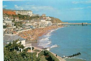 Postcard Ventnor  Aerial View Isles of Wight England  # 3630A
