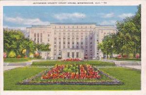 Exterior, Jefferson County Court House, Birmingham, Alabama, PU-1948