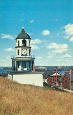 Canada, Old Town Clock on Citadel Hill, Halifax, Nova Sco...