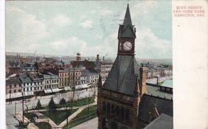 Canada Hamilton King Street and Gore Park 1907