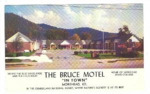The Bruce Motel, In Town, Morehead, Kentucky, 1940-1960s