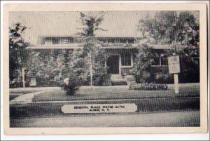 Original Black Water Baths, Alden NY