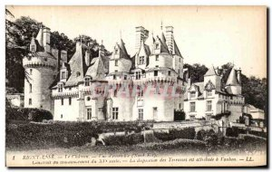 Old Postcard Rigny Usse Chateau d View Together