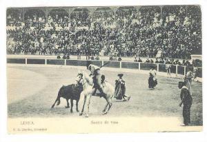 Suerte De Vara, Linea, Bull-Fight, Spain, 1900-1910s