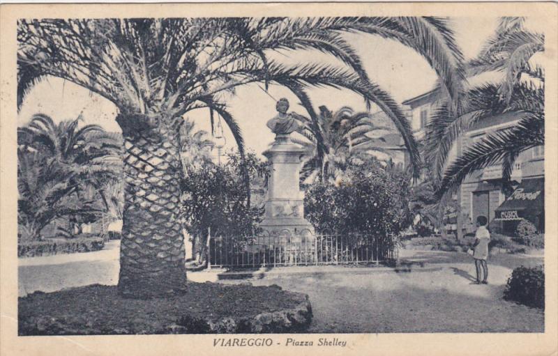 VIAREGGIO , Italy , 1910s-30s - Piazza Shelley