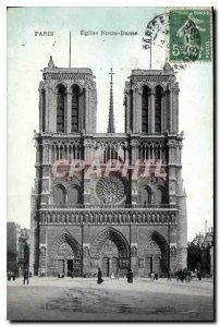 Postcard Old Paris Eglise Notre Dame
