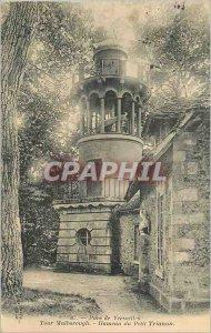 Postcard Old Park of Versailles Marlborough Tower Hamlet Petit Trianon