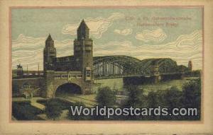 Coln a Rh Hohenzollernbrucke Germany, Deutschland Postcard Hohenzollern Bridg...