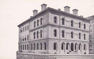 DUBUQUE, Iowa, 1900-1910's; Post Office
