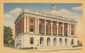 Post Office , TUSCALOOSA , Alabama , 30-40s