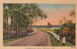 Missouri Greetings From Macon 1946