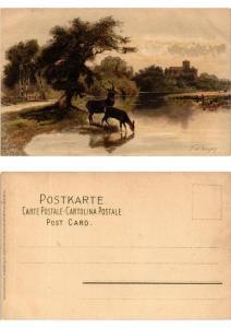 CPA Von Bergeshohn Meissner & Buch Litho Serie 1264 (730489)
