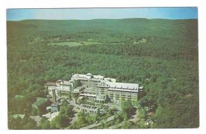PA Buck Hill Falls The Inn Hotel Poconos Aerial View 1953 Postcard Pennsylvania
