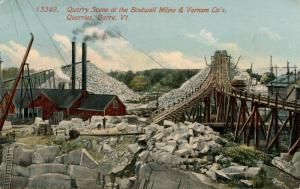 VT - Barre.  Boutwell Miline & Varnum Co. Granite Quarries
