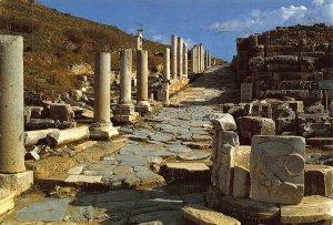 Turkey Ephesus Kuretler Street and Round Gate Postcard