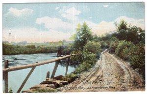 Readfield, Me, Road near Torsey Pond