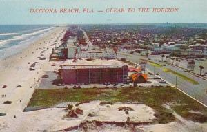 Florida Daytona Beach Looking South 1970