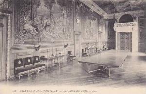 France Chantilly Chateau La Galerie des Cerfs