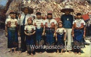 Two San Blas Indian Chief Republic of Panama Unused
