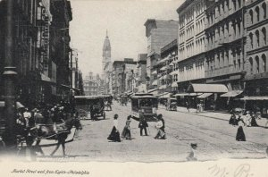 PHILADELPHIA , Pennsylvania , 1901-07 ; Market Street , West from 8th
