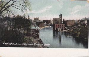 looking from Division, St. Bridge, Pawtucket, Rhode Island, PU-1905