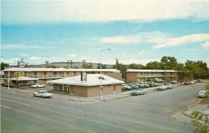 Billings Montana~Esquire Motel And Cafe~Dial Phone in Every Room 1950s PC